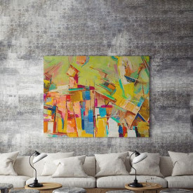 Tablou Canvas Colorful abstract