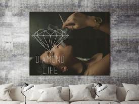 Tablou canvas - Diamond life