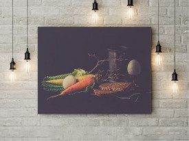 Tablou Canvas Dinner in the dark
