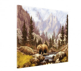 Tablou canvas efect painting - urs
