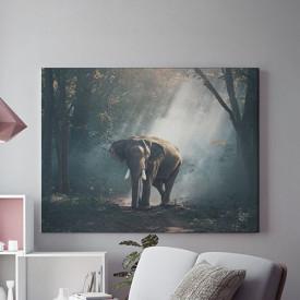 Tablou Canvas Elefant Ratacit