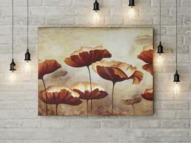 Tablou Canvas Flori delicate in culori de toamna