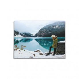 Tablou Canvas Frozen Lake