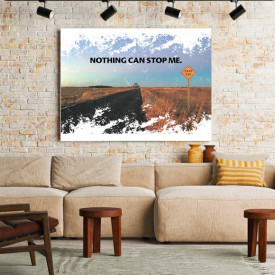 TABLOU MOTIVATIONAL - NOTHING CAN STOP ME