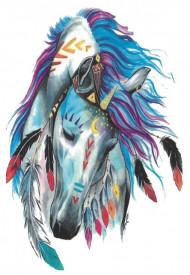 Tatuaj temporar -beautiful horse- 17x10cm