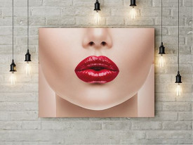 Tempting lips