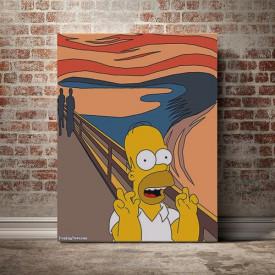 The Scream Homer