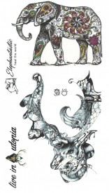 Tatuaj temporar -heal the world- 17x10cm