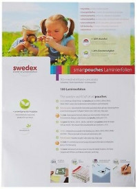 Folii laminare Swedex, top 100buc, A3 125 microni