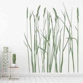 Sticker Long Grass Flowers