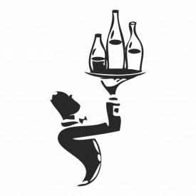 Sticker Waiter Wine