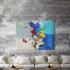 Tablou Canvas abstract ilusion