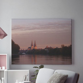 Tablou Canvas Catedrala la Apus