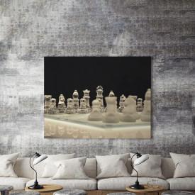 Tablou Canvas Glass Chess