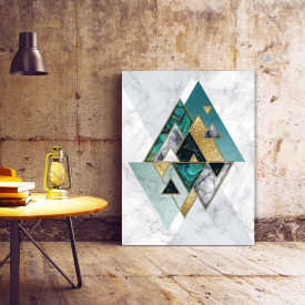 Tablou Canvas Perfect Geometry (marble)