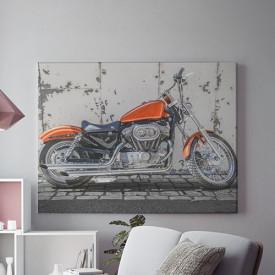 Tablou Canvas Red moto