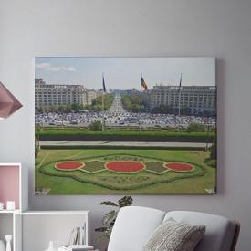 Tablou Canvas Vedere din casa poporului