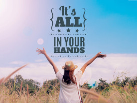 Tablou motivational - It's in your hands