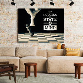 TABLOU MOTIVATIONAL - SUCCESS IS A STATE OF MIND