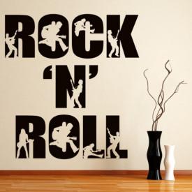 Sticker Rock'n Roll Band