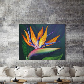 Tablou Canvas Floare exotica