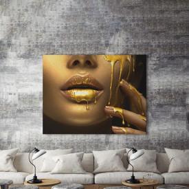 Tablou Canvas Golden Temptation