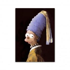 Tablou Canvas Marge Simpson