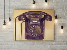 Tablou Canvas Vintage phone