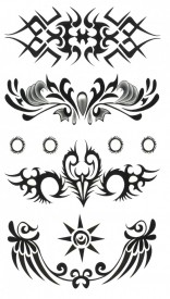 Tatuaj temporar -body art- 17x10cm