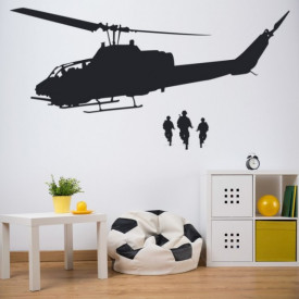 Army Helicopter Soldiers