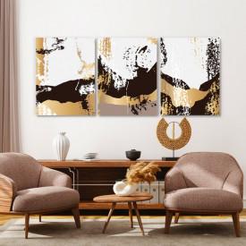 Set tablouri canvas - Golden rust