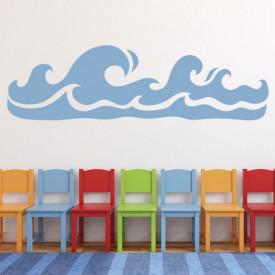 Sticker Rolling Waves Ocean