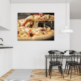 TABLOU BUCATARIE - YUMMY PIZZA