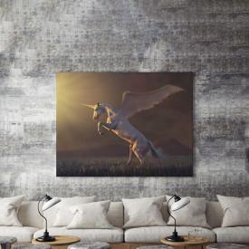 Tablou Canvas Cal cu aripi