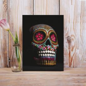 Tablou Canvas Craniu decorat