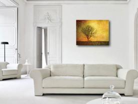 Tablou canvas efect painting - Copac