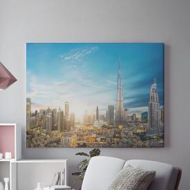 Tablou Canvas Futuristic Dubai