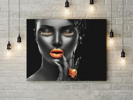 Tablou Canvas Golden passion