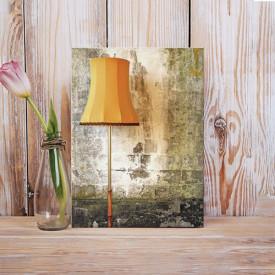 Tablou Canvas Lampa la perete