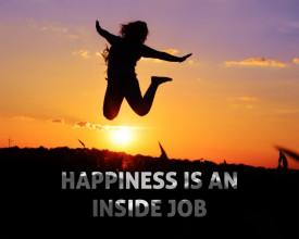 Tablou canvas motivational - Happiness