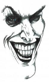 Tatuaj temporar -Joker- 17x10cm