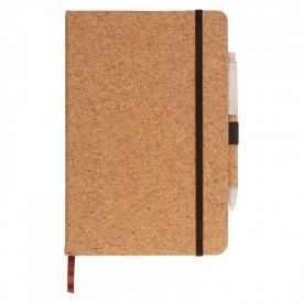 Agenda A5 din pluta personalizata - Notebook - cu logo sau mesaj la alegere 21884