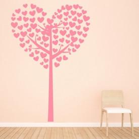 Sticker Heart Tree