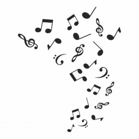 Sticker Musical Notes Music