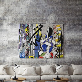 Tablou Canvas Abstract Pierrot