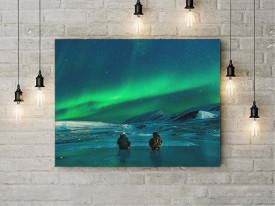 Tablou Canvas Aurora Boreala 1