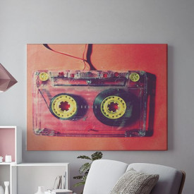 Tablou Canvas Caseta Audio