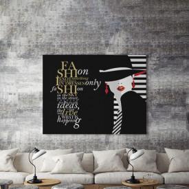 Tablou Canvas Fashion gold