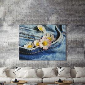 Tablou Canvas Flori in buzunar