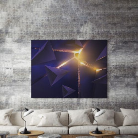 Tablou Canvas Futuristic Light- 01